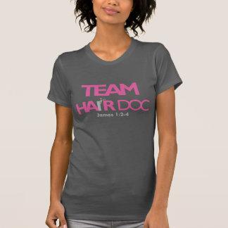 T-shirt Doc. de cheveux d'équipe (Racerback)