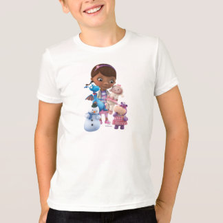 T-shirt Doc. McStuffins et ses amis animaux