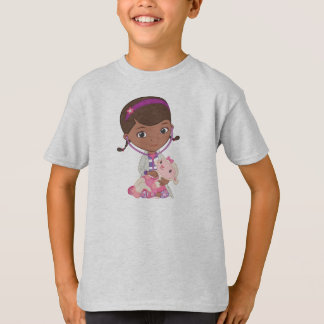 T-shirt Doc. McStuffins tenant Lambie