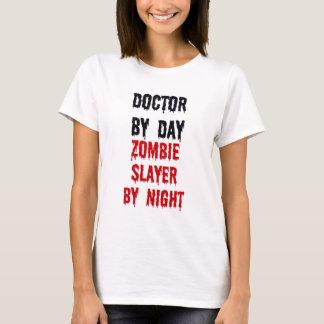T-shirt Docteur By Day Zombie Slayer par nuit