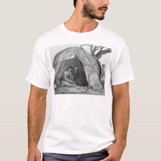 T-shirt Docteur indien Concocting un pot de médecine