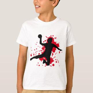 T-shirt dodgeball sanglant de handball
