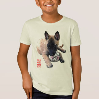 t-shirt dog malinois