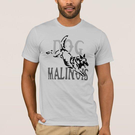 t-shirt dog malinois cheval