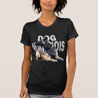 T-shirt dog malinois china