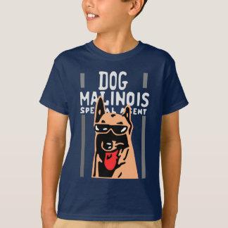 T-shirt dog malinois spécial agent