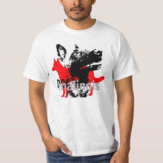 t-shirt dogmali malinois