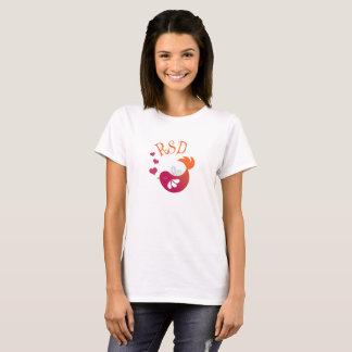 T-shirt d'oiseau de RSD