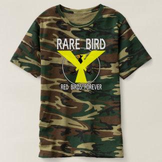 T-shirt D'OISEAUX OISEAU RARE ROUGE v2 POUR TOUJOURS -