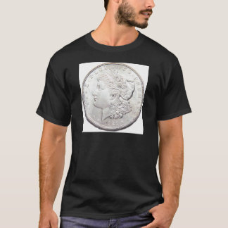 T-SHIRT DOLLAR EN ARGENT DE MORGAN