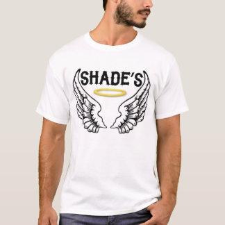 T-shirt d'ombre dans le blanc