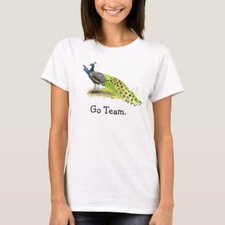 T-shirt Domestique de mariage de paon d'honneur