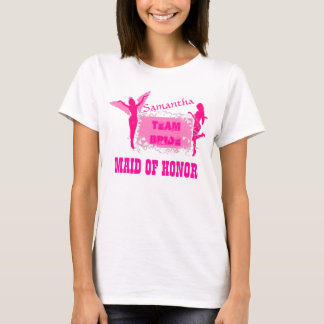 T-shirt Domestique de partie de bachelorette d'honneur