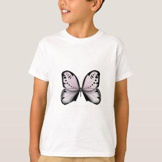 T-shirt Domestique rose de marais de papillon rose