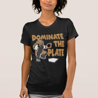 T-shirt Dominez le plat, gold2