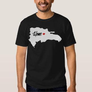 T-shirt dominicain à la maison BG foncée