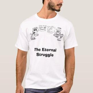 T-shirt Dominique et Adam, la lutte éternelle