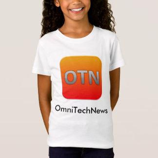 T-shirt d'OmniTechNews - enfants, filles