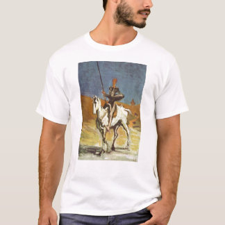 "T-shirt ""Don don Quichotte et Sancho Panza"