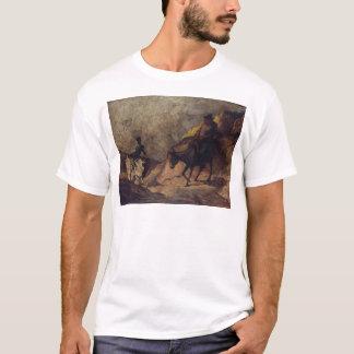 T-shirt Don don Quichotte et Sancho Panza par Honoré