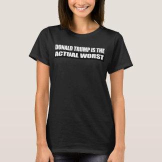 T-shirt Donald Trump est le plus mauvais - - .png réel