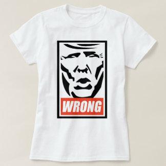 "T-shirt Donald Trump - ""faux """