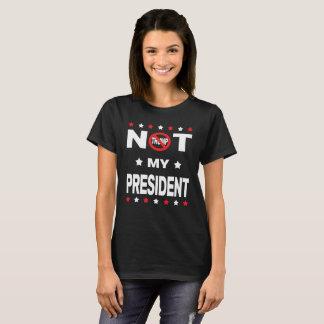 T-shirt Donald Trump n'est pas mon président