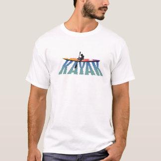 T-shirt d'ondulation de kayak