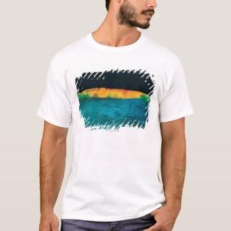 T-shirt Données de haute résolution de gravité