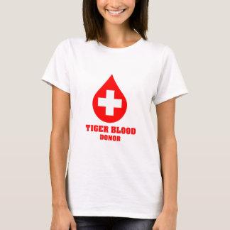 T-shirt Donneur de sang de tigre