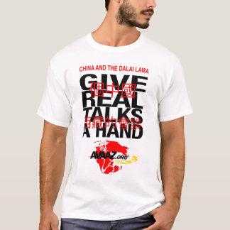 T-shirt Donnez à paix une main - Avaaz.org