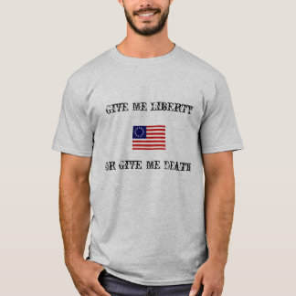 T-shirt Donnez-moi la liberté…