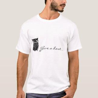 T-shirt Donnez une huée !