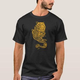 T-shirt d'or de tigre