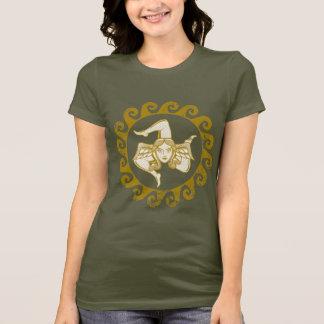 T-shirt d'or de Trinacria