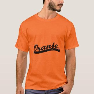 T-shirt d'Oranje d'équipe