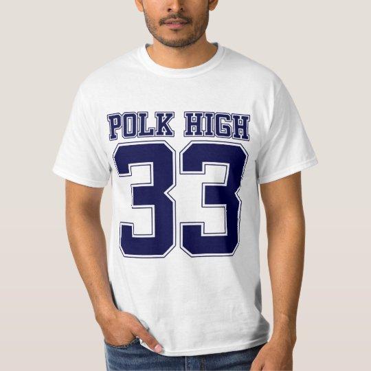 T-shirt Dos élevé de Polk Bundy 33