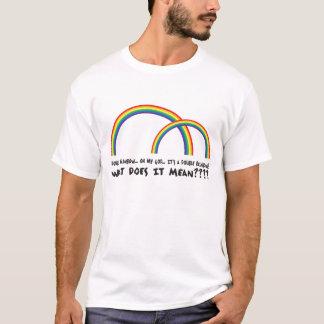 T-shirt Double arc-en-ciel