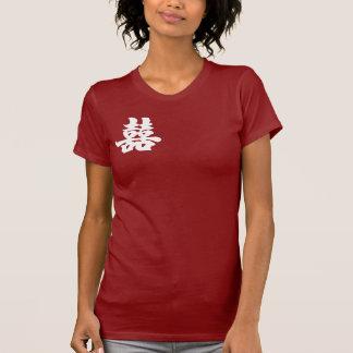 T-shirt Double bonheur - avant
