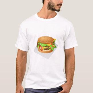 T-shirt Double cheeseburger