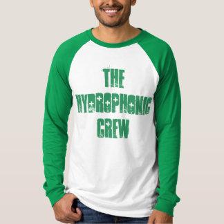 T-shirt Double chemise de base-ball de couleur