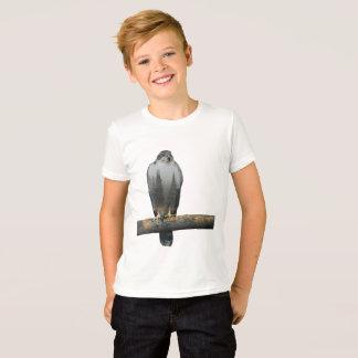 T-shirt Double exposition de faucon