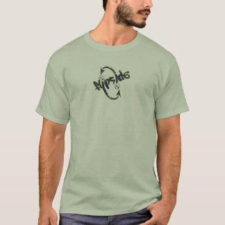 T-shirt Double flèche déchirée en lambeaux