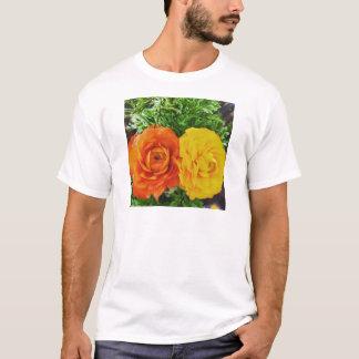 T-shirt Double fleur de problème