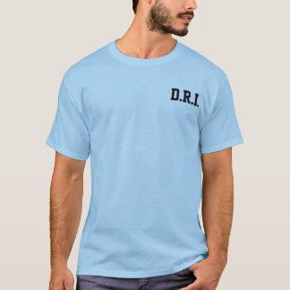 T-shirt Double inspecteur d'arc-en-ciel