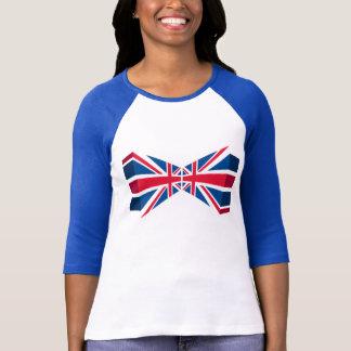 T-shirt Double Union Jack, drapeau britannique dans 3D