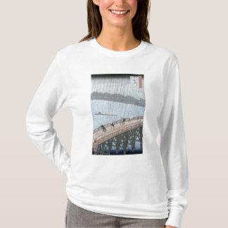 T-shirt Douche soudaine au-dessus de pont de Shin-Ohashi