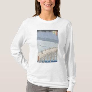T-shirt Douche soudaine sur le pont d'Ohashi chez Ataka