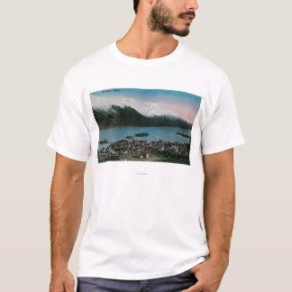 T-shirt Douglas, ville ViewDouglas, AK de l'Alaska