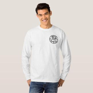 T-shirt Douille de base des hommes la longue